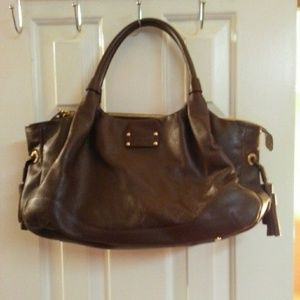 Kate Spade Berkshire Road Stevie Leather Satchel